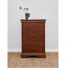 Willis & Gambier Antoinette Tall 6 Drawer Chest