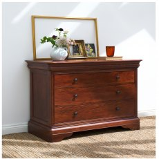 Willis & Gambier Antoinette Wide 3 Drawer Chest