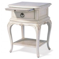 Wilis & Gambier Ivory 1 Drawer Bedside Chest