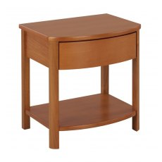 Nathan Classic Teak Shaped Lamp Table