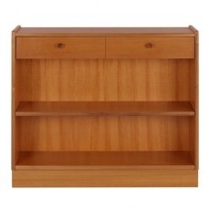 Nathan Classic Teak Low Open Bookcase