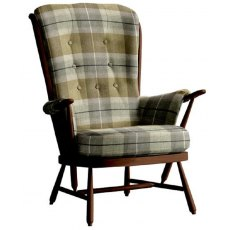 Ercol Evergreen Easy Chair Wood Finish