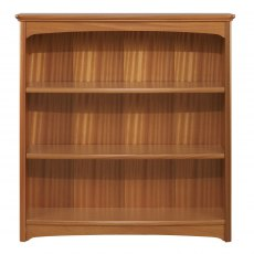 Nathan Classic Teak Mid Double Bookcase