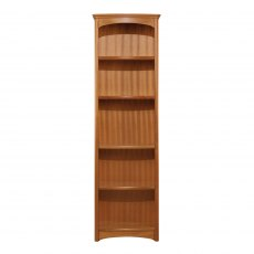 Nathan Classic Teak Tall Single Bookcase