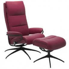 Stressless Tokyo Highback Chair With Footstool
