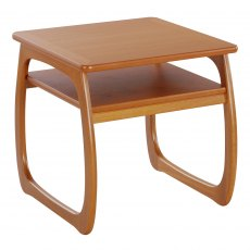 Nathan Classic Teak Burlington Lamp Table