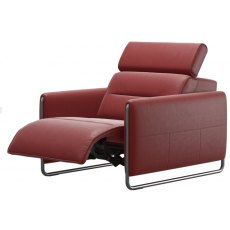 Stressless Emily Powered Recliner Armchair With Steel Legs