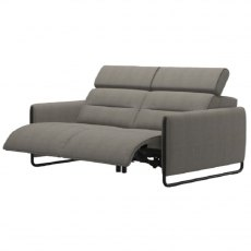 Stressless Emily Powered 2 Seater Recliner With Steel Legs