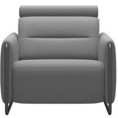 Stressless Emily Static Armchair With Steel Legs