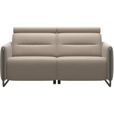 Stressless Emily Staic 2 Seater Sofa With Steel Legs