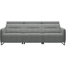 Stressless Emily Static 3 Seater Sofa With Steel Legs