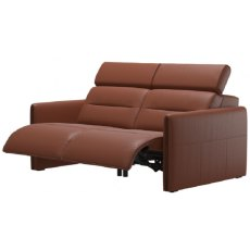 Stressless Emily Powered 2 Seater Recliner With Wooden Inlay