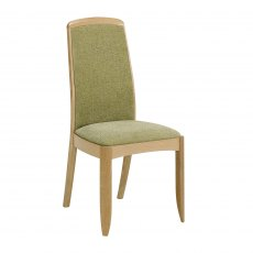 Nathan Shades Oak Fully Upholstered Living & Dining Chair