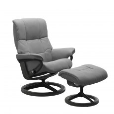 Stressless Mayfair Signature Base Chair With Footstool