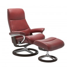 Stressless View Signature Base Chair With Footstool
