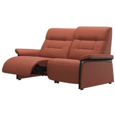 Stressless Mary 2 Seater Powered Recliner (Wooden Inlay)