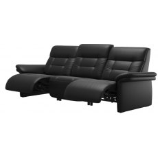 Stressless Mary (Upholstered) 3 Seater Powered Recliner