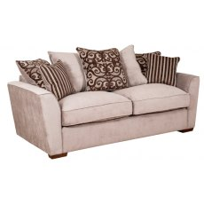 Buoyant Upholstery Fantasia 3 Seater Pillow Back
