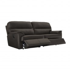 G Plan Watson 2 Cushion 3 Seater Double Manual Reclining Sofa
