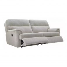 G Plan Watson 2 Cushion 3 Seater Double Powered Reclining Sofa