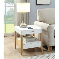 Jual San Francisco Smart Lamp Bedside Table JF401