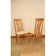 Andrena Pelham Twin Slatback Dining Chair