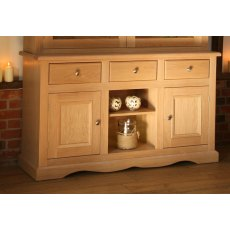 Andrena Pelham 6' Sideboard with Open Center