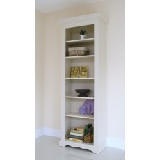 Andrena Barley 27' Narrow Open Bookcase