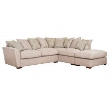 Buoyant Upholstery Atlantis Pillow Back Corner Group Sofa LH2/RFC/FST