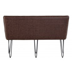 Hafren Collection Studded Back Bench 140cm