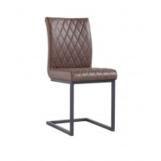 Hafren Collection Diamond Stitch Dining Chair
