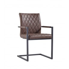 Hafren Collection Diamond Stitch Carver Chair
