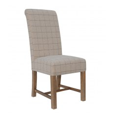Hafren Collection Fabric Dining Chair