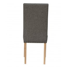 Hafren Collection Straight Back Fabric Chair