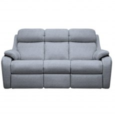 G Plan Kingsbury 3 Seater Double Manual Recliner Sofa