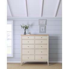 Willis & Gambier Hancock 10 Drawer Chest