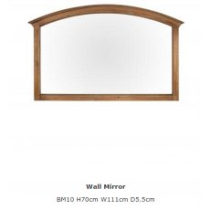 Baker Furniture Bermuda Wall Mirror