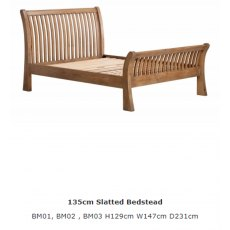 Baker Furniture Bermuda Bedstead