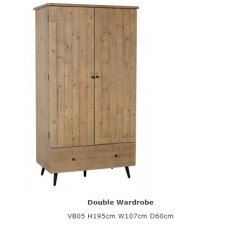 Baker Furniture Valetta Double Wardrobe