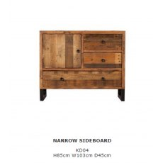 Baker Furniture Nixon Narrow Sideboard