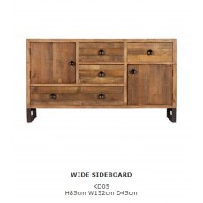 Baker Furniture Nixon Wide Sideboard
