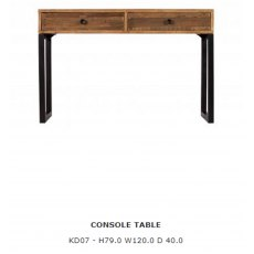 Baker Furniture Nixon Console Table