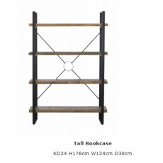 Baker Furniture Nixon Tall Bookcase