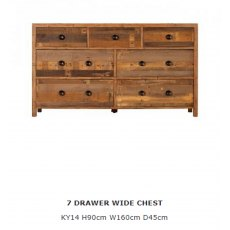 Baker Furniture Nixon 7 Drawer Wide Chest