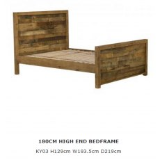 Baker Furniture Nixon Bedstead High Footend