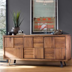 Baker Furniture Soho Camden 3 Door Sideboard