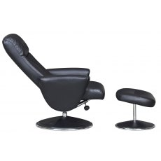 GFA Alizza Swivel Recliner Chair And Footstool