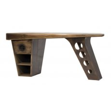 Carlton Furniture Aviator Half Wing Desk