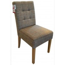 Carlton Furniture Additions Dining Chair Colin in Harris Tweed