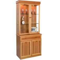 Sutcliffe Trafalgar 2 Door Display Unit with Mirrored Back